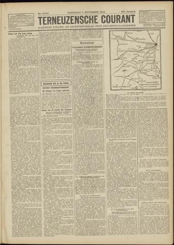 Ter Neuzensche Courant. Algemeen Nieuws- en Advertentieblad voor Zeeuwsch-Vlaanderen / Neuzensche Courant ... (idem) / (Algemeen) nieuws en advertentieblad voor Zeeuwsch-Vlaanderen 1942-09-02
