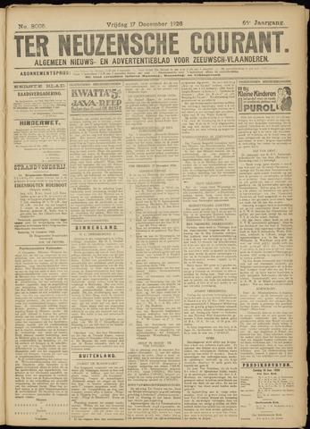 Ter Neuzensche Courant. Algemeen Nieuws- en Advertentieblad voor Zeeuwsch-Vlaanderen / Neuzensche Courant ... (idem) / (Algemeen) nieuws en advertentieblad voor Zeeuwsch-Vlaanderen 1926-12-17