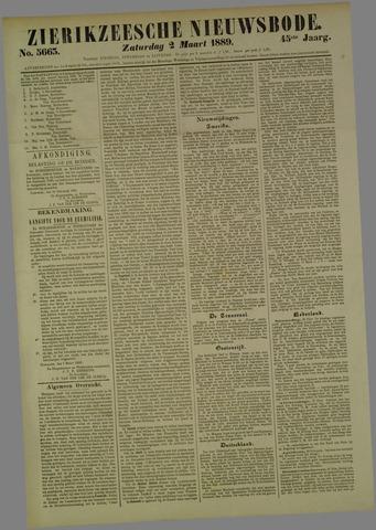 Zierikzeesche Nieuwsbode 1889-03-02