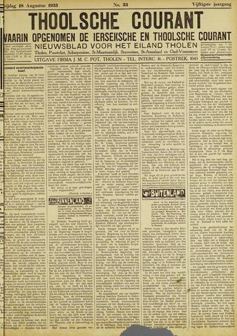 Ierseksche en Thoolsche Courant 1933-08-18