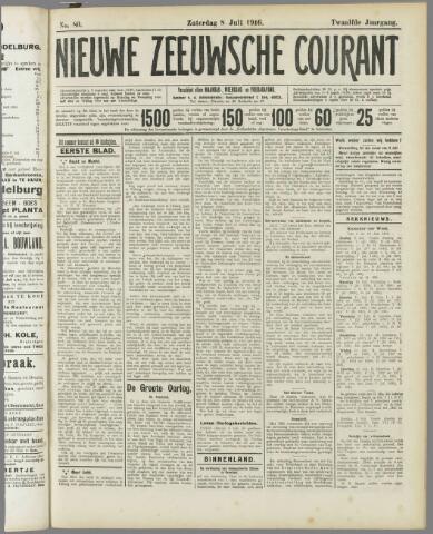 Nieuwe Zeeuwsche Courant 1916-07-08
