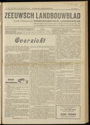 Zeeuwsch landbouwblad ... ZLM land- en tuinbouwblad 1952-09-13
