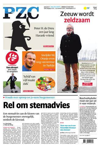 Provinciale Zeeuwse Courant 2016-03-22