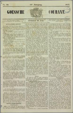 Goessche Courant 1857-06-11