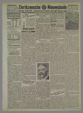 Zierikzeesche Nieuwsbode 1933-05-15