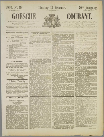 Goessche Courant 1883-02-13