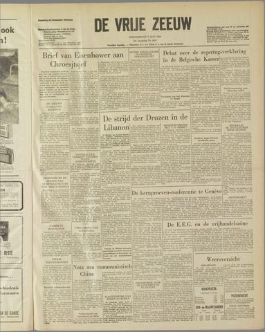 de Vrije Zeeuw 1958-07-03