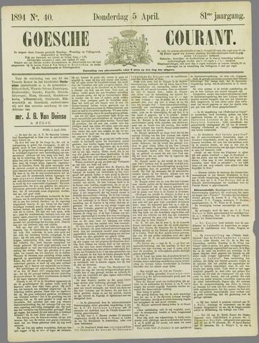 Goessche Courant 1894-04-05