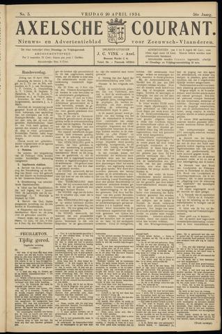 Axelsche Courant 1934-04-20