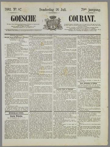 Goessche Courant 1883-07-26