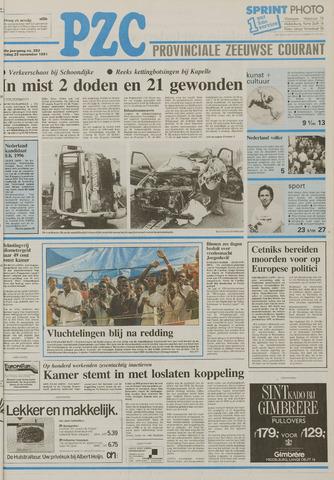 Provinciale Zeeuwse Courant 1991-11-29