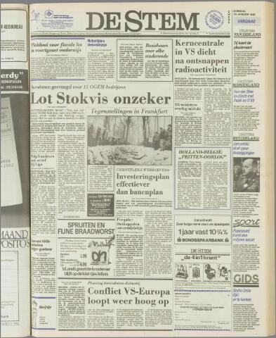 de Stem 1982-01-26