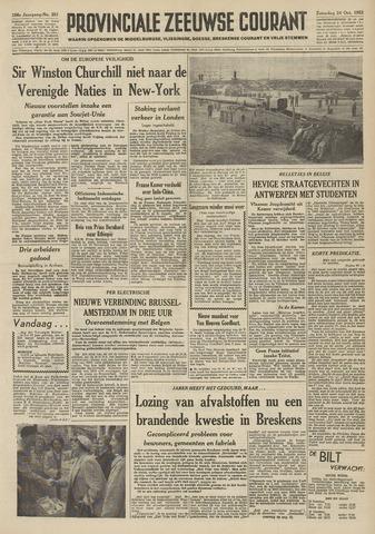 Provinciale Zeeuwse Courant 1953-10-24