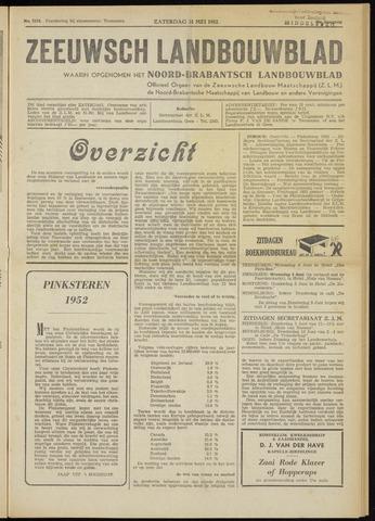 Zeeuwsch landbouwblad ... ZLM land- en tuinbouwblad 1952-05-31