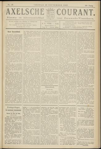 Axelsche Courant 1927-09-23