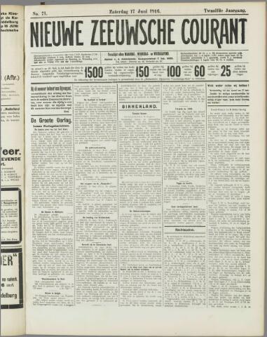 Nieuwe Zeeuwsche Courant 1916-06-17