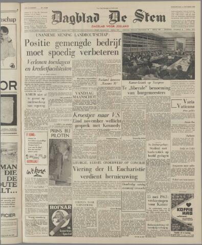 de Stem 1962-10-18