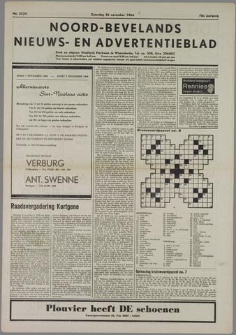 Noord-Bevelands Nieuws- en advertentieblad 1966-11-26