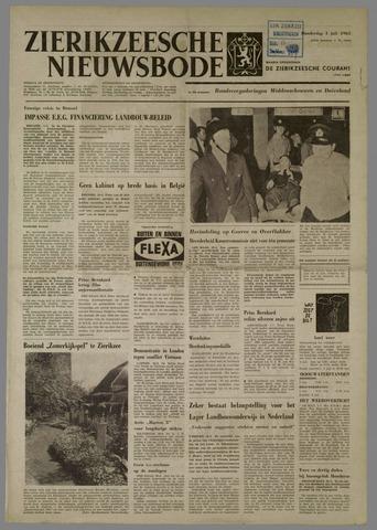 Zierikzeesche Nieuwsbode 1965-07-01