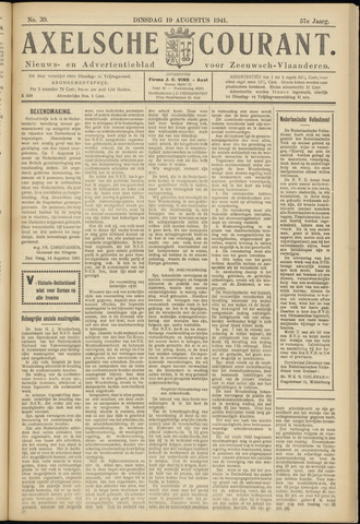 Axelsche Courant 1941-08-19