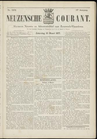 Ter Neuzensche Courant. Algemeen Nieuws- en Advertentieblad voor Zeeuwsch-Vlaanderen / Neuzensche Courant ... (idem) / (Algemeen) nieuws en advertentieblad voor Zeeuwsch-Vlaanderen 1877-03-10