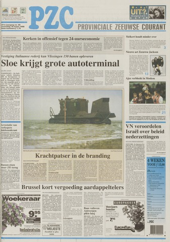 Provinciale Zeeuwse Courant 1998-03-18