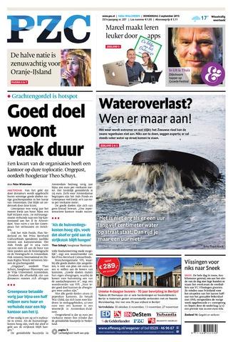 Provinciale Zeeuwse Courant 2015-09-03