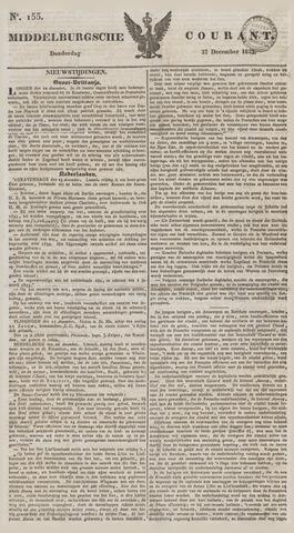 Middelburgsche Courant 1832-12-27