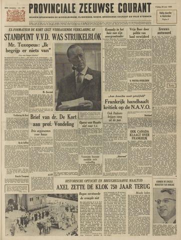 Provinciale Zeeuwse Courant 1963-06-28