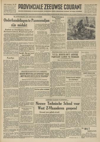 Provinciale Zeeuwse Courant 1952-04-26