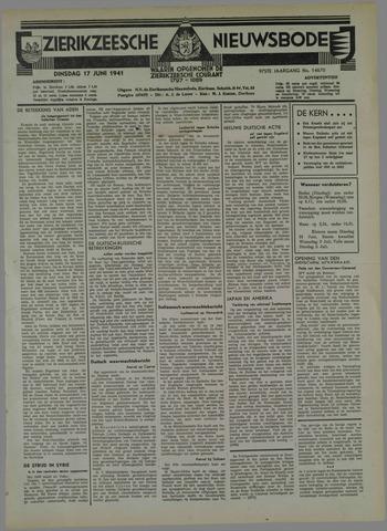 Zierikzeesche Nieuwsbode 1941-06-27