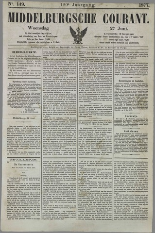 Middelburgsche Courant 1877-06-27