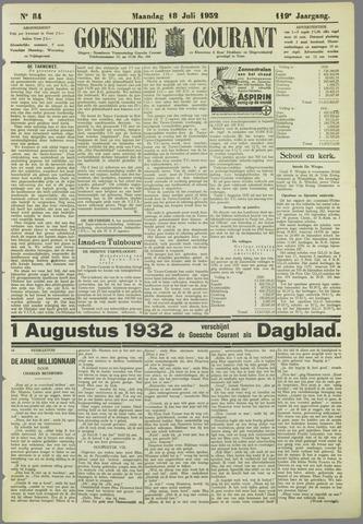 Goessche Courant 1932-07-18