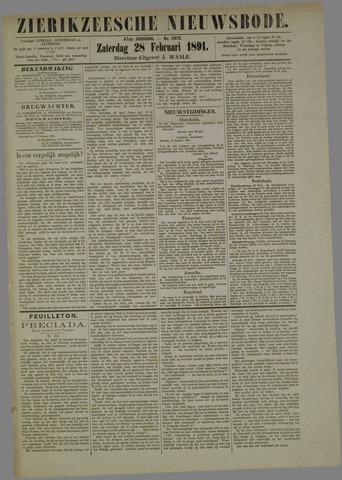 Zierikzeesche Nieuwsbode 1891-02-28