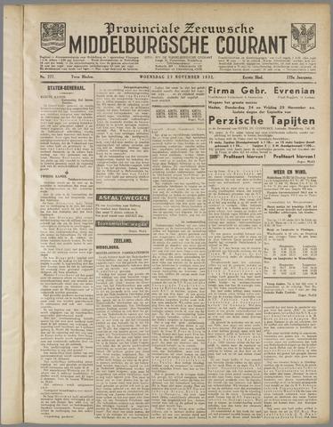 Middelburgsche Courant 1932-11-23