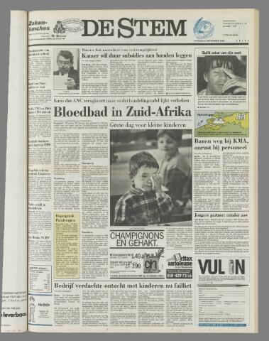 de Stem 1992-09-08