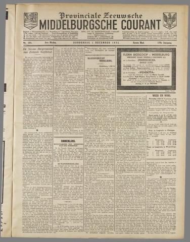 Middelburgsche Courant 1932-12-01