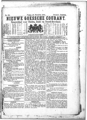 Nieuwe Goessche Courant 1878-11-22