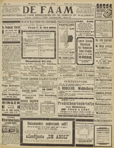 de Faam en de Faam/de Vlissinger 1924-01-30
