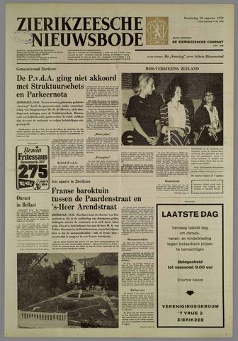 Zierikzeesche Nieuwsbode 1976-08-12