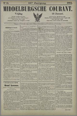 Middelburgsche Courant 1884-01-25