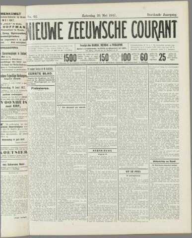 Nieuwe Zeeuwsche Courant 1917-05-26