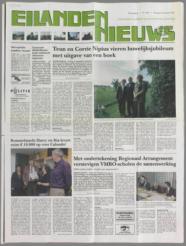 Eilanden-nieuws. Christelijk streekblad op gereformeerde grondslag 2007-09-25