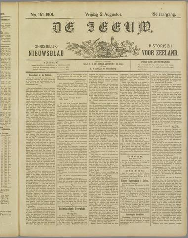 De Zeeuw. Christelijk-historisch nieuwsblad voor Zeeland 1901-08-02