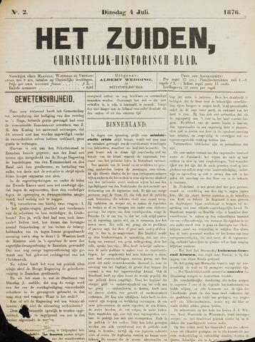 Het Zuiden, Christelijk-historisch blad 1876-07-04