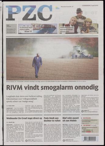 Provinciale Zeeuwse Courant 2014-04-03