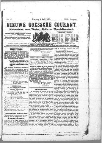 Nieuwe Goessche Courant 1870-07-04