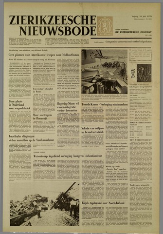 Zierikzeesche Nieuwsbode 1970-07-10