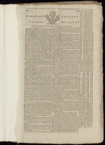 Middelburgsche Courant 1801-01-13