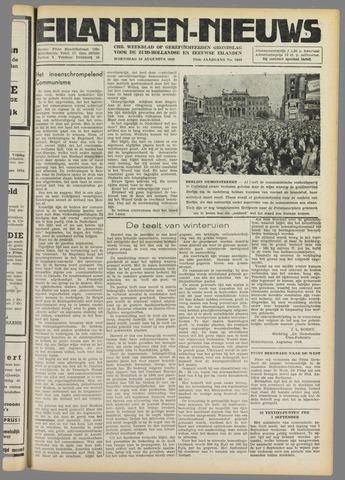 Eilanden-nieuws. Christelijk streekblad op gereformeerde grondslag 1949-08-10